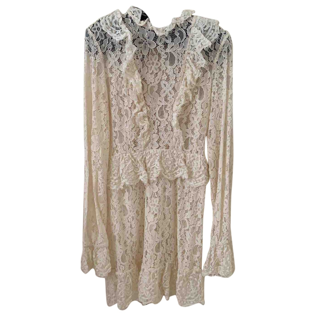 Non Signé / Unsigned \N Beige dress for Women 32 FR