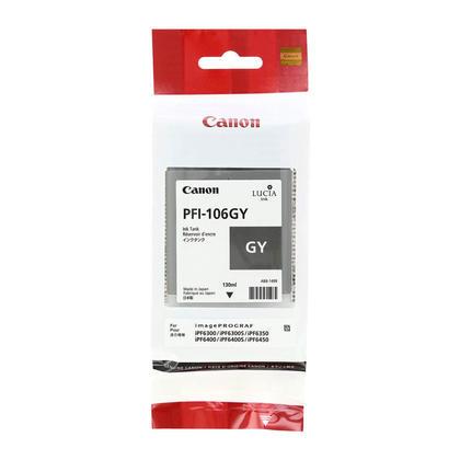 Canon PFI-106GY 6630B001AA cartouche d'encre originale grise