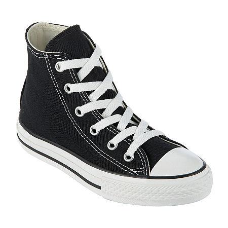Converse Chuck Taylor All Star Kids High Tops Sneakers - Little Kids, 13 1/2 Medium, Black