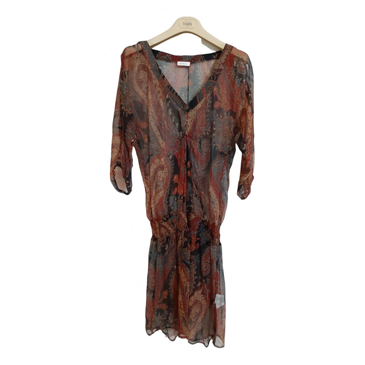 Vestido de Seda Max & Co