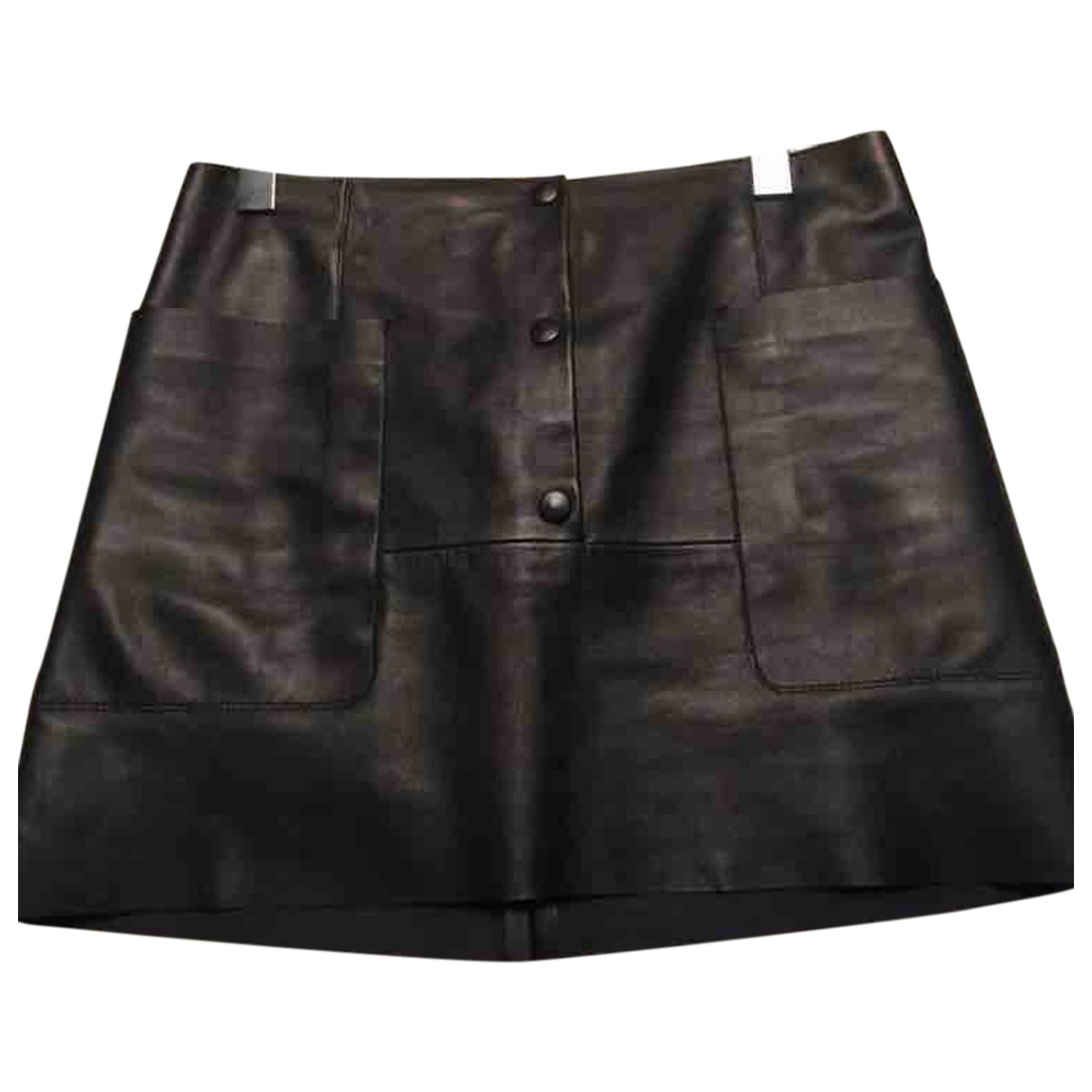 Mini falda de Cuero Acne Studios