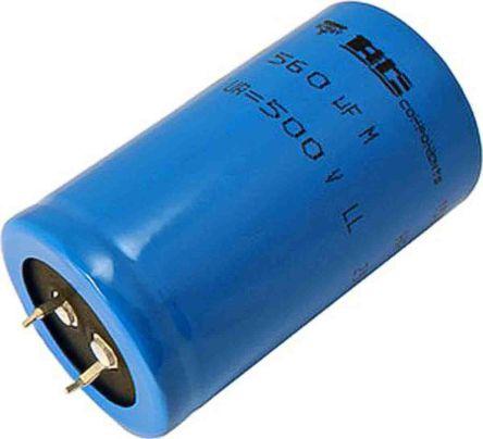 Vishay 560μF Electrolytic Capacitor 500V dc, Through Hole - MAL225729561E3 (50)