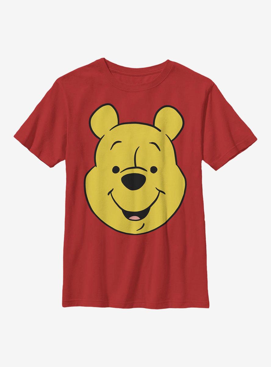 Disney Winnie The Pooh Big Face Youth T-Shirt