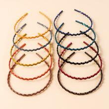 10 Stuecke Einfaches Haarband