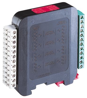 WJ Furse ESP Q Series 132 V Maximum Voltage Rating 5 kA, 20 kA Maximum Surge Current 8 Wire 110V Surge Protector, DIN