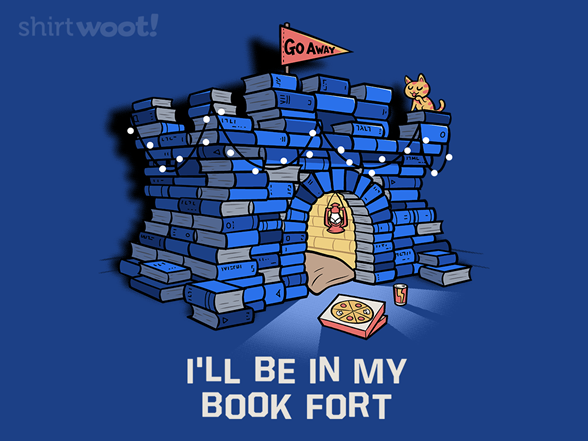 Book Fort T Shirt