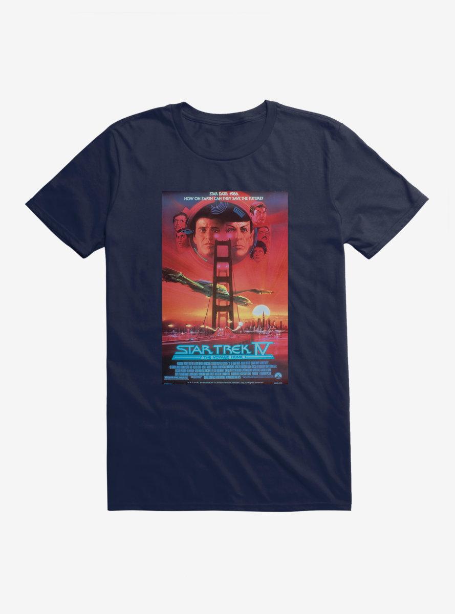 Star Trek The Voyage Home Poster T-Shirt