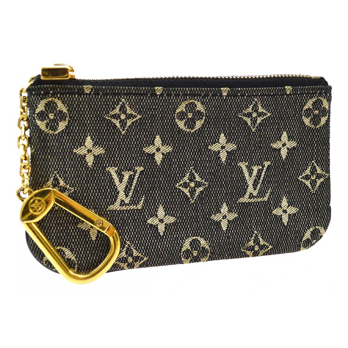 Louis Vuitton - Petite maroquinerie   pour femme en toile - gris