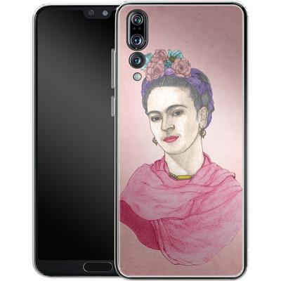 Huawei P20 Pro Silikon Handyhuelle - Frida von Barruf