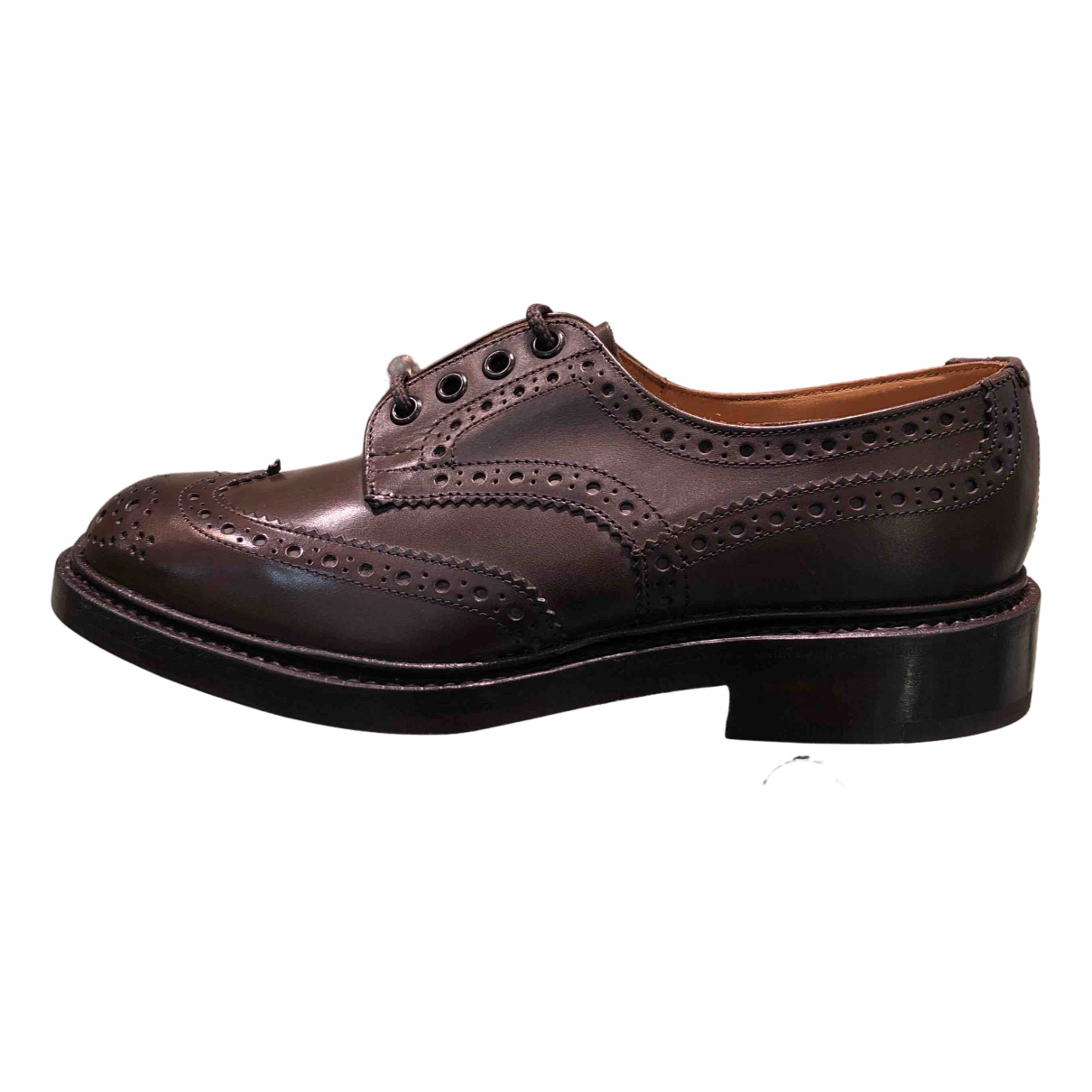 Trickers London \N Brown Leather Lace ups for Men 6 UK