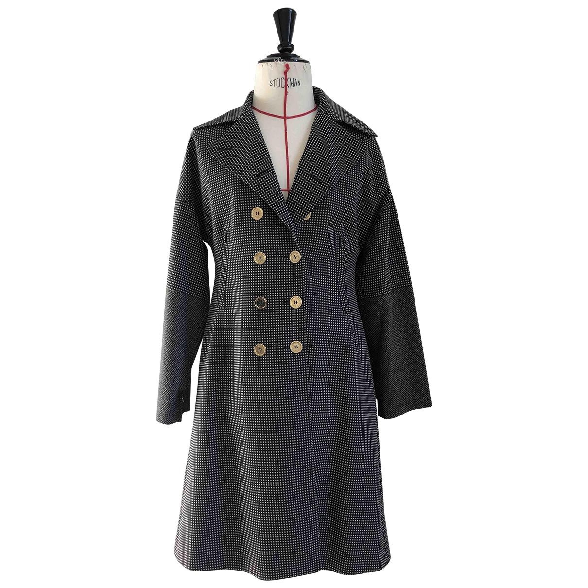 Kenzo - Manteau   pour femme en coton - marron