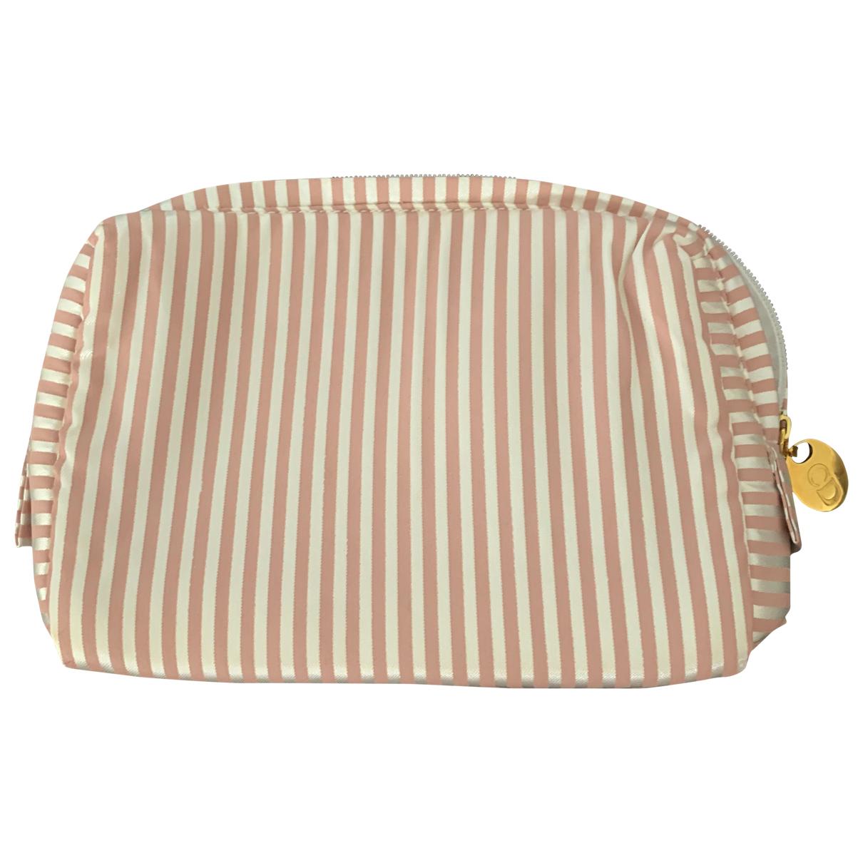 Dior \N Pink Cloth Clutch bag for Women \N