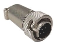 Hirose Connector, 6 contacts Cable Mount Plug, Plug In, Screw