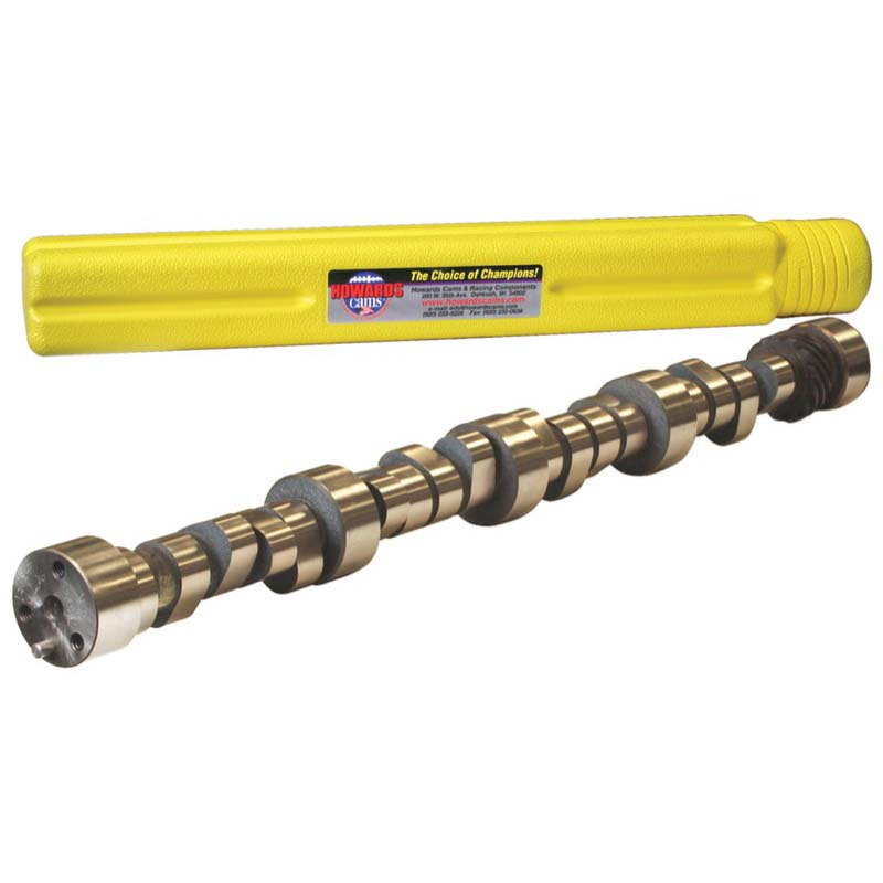 Hydraulic Roller Camshaft; 1955 - 1998 Chevy 262-400 2000 to 5600 Howards Cams 110255-12S 110255-12S