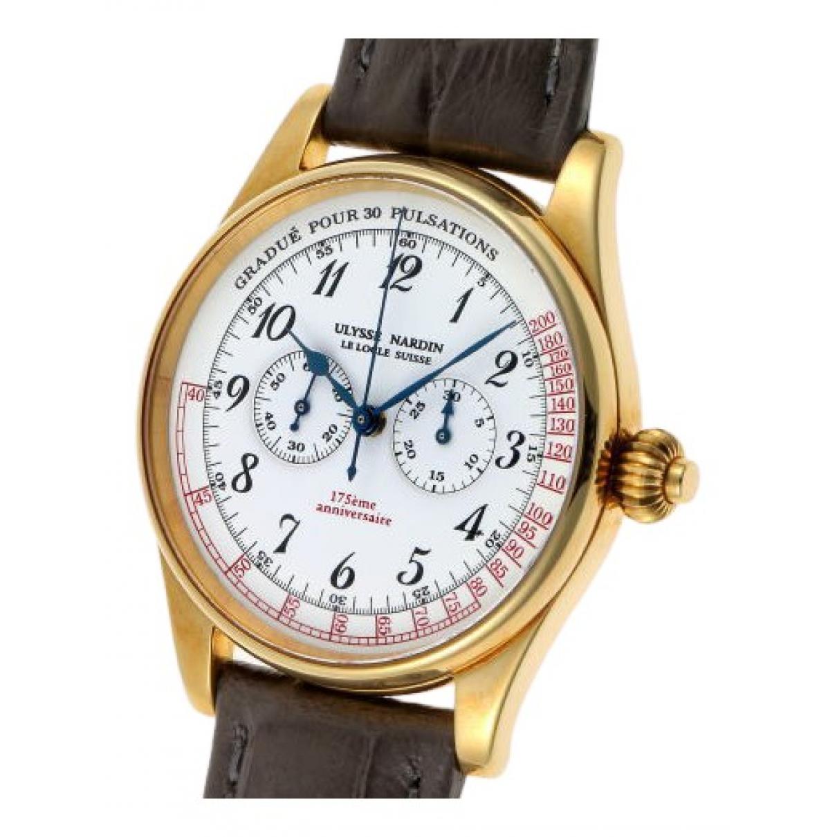 Relojes de Oro amarillo Ulysse Nardin