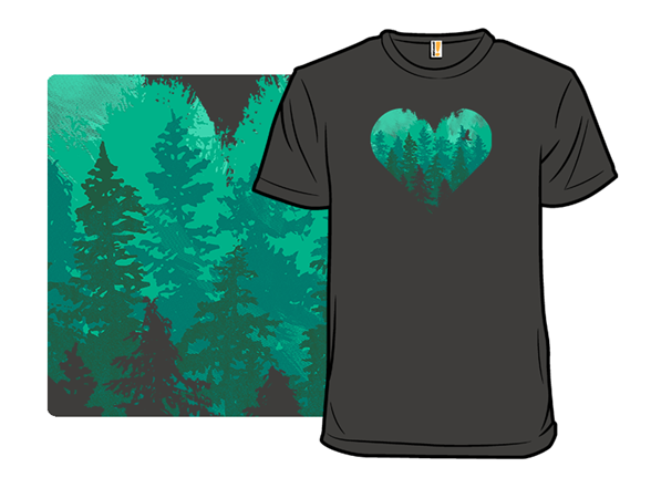 Heart Of The Wild T Shirt