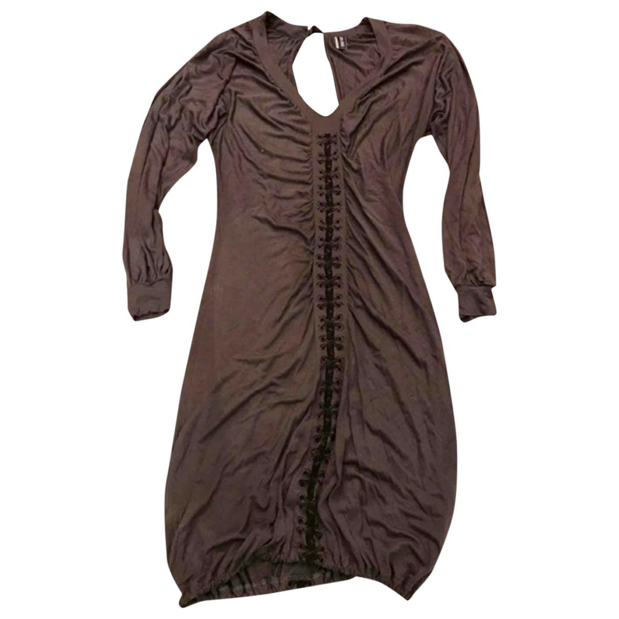 Jean Paul Gaultier \N Brown dress for Women XS International