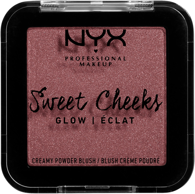 Sweet Cheeks Creamy Powder Blush (Glow) - Fig