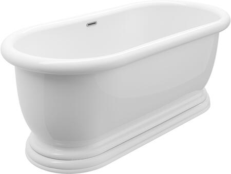 BT-0643-NF Austin 69 Freestanding Tub No Faucet  in