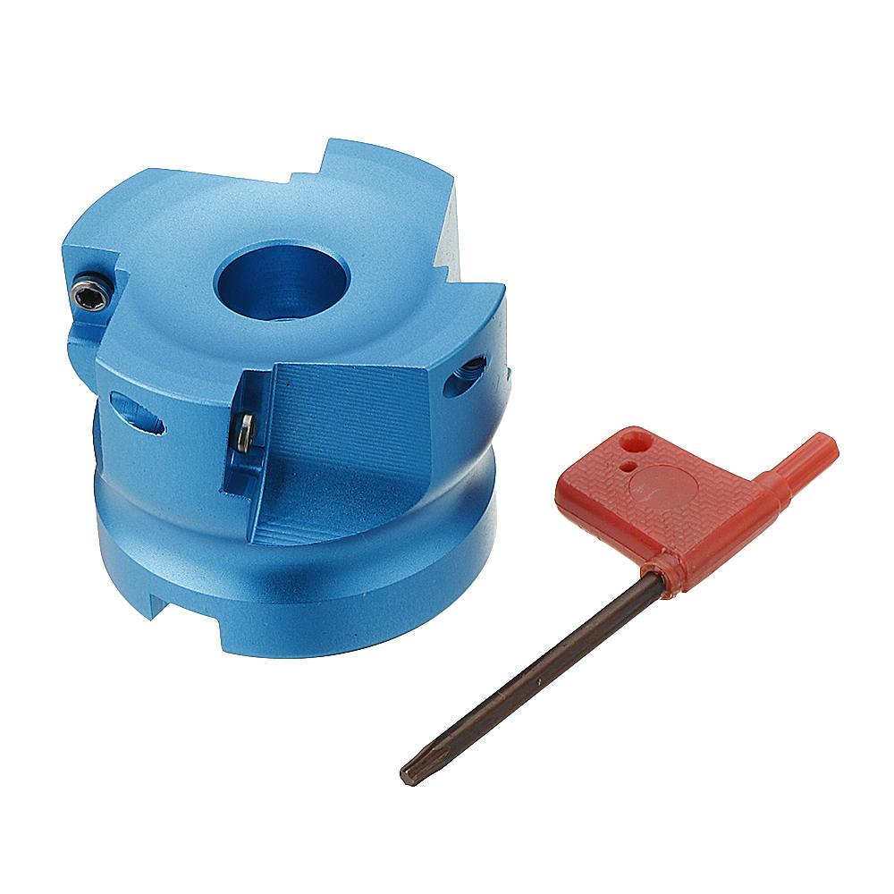 BAP 400R 63-22-4F Face Milling Cutter 90 Degree Aluminum Alloy Lathe Tool for APMT1604 Insert