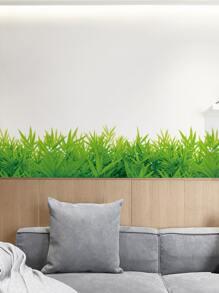 1sheet Grass Pattern Wall Sticker