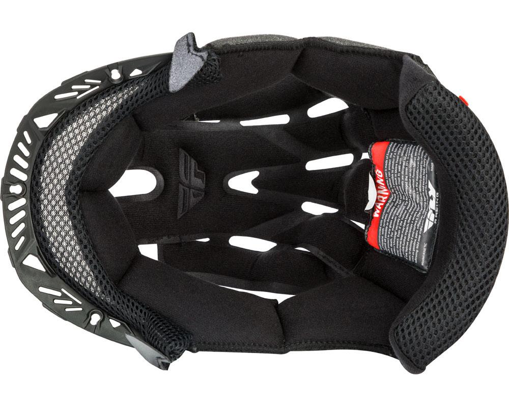 Fly Racing 73-88160YS Kinetic Helmet Liner