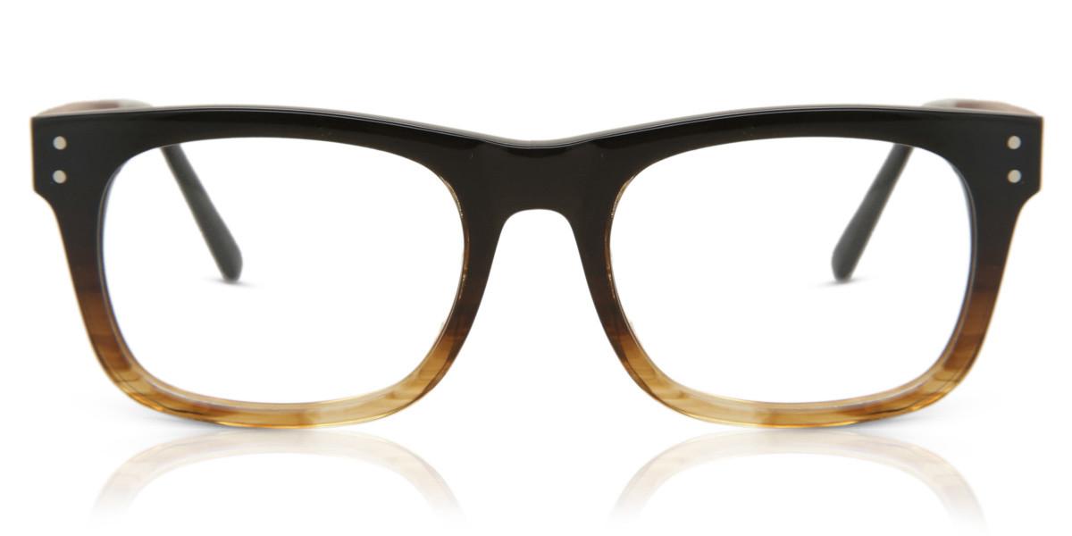 Square Full Rim Acetate Men's Glasses Discount Online Black Size Standard, Free Lenses, HSA/FSA Insurance, Blue Light Block Available - Oh My Woodness