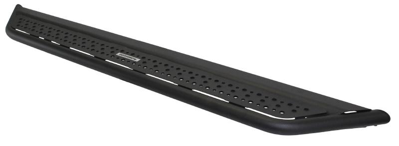 Go Rhino D64205T D6 Dominator Steel Side Steps-Black Textured Powdercoat with Mounting Brackets