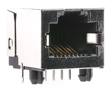 Molex Modular Jack Right Angle 8/8 RJ45 Invert