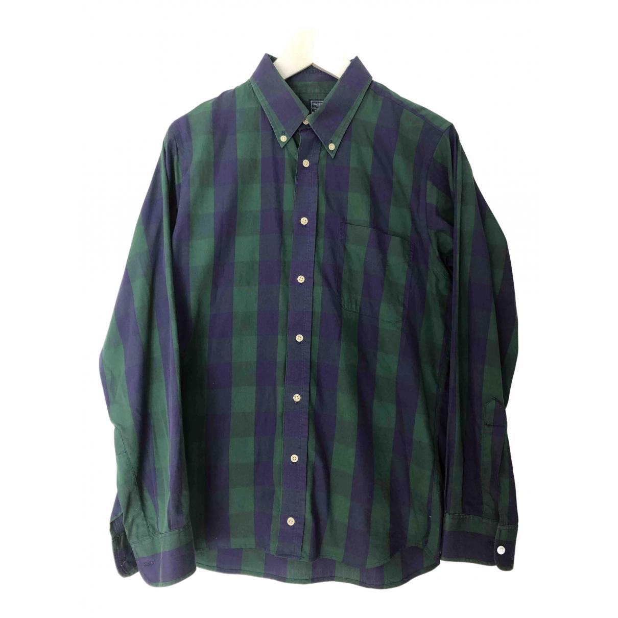 Hackett London N Multicolour Cotton Shirts for Men 16 UK - US (tour de cou / collar)
