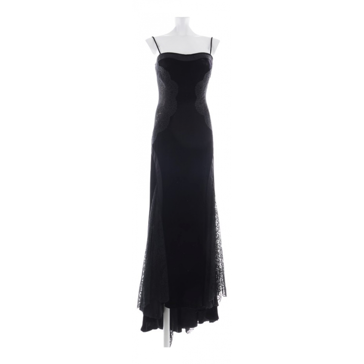 Versace \N Black Cotton dress for Women 34 FR