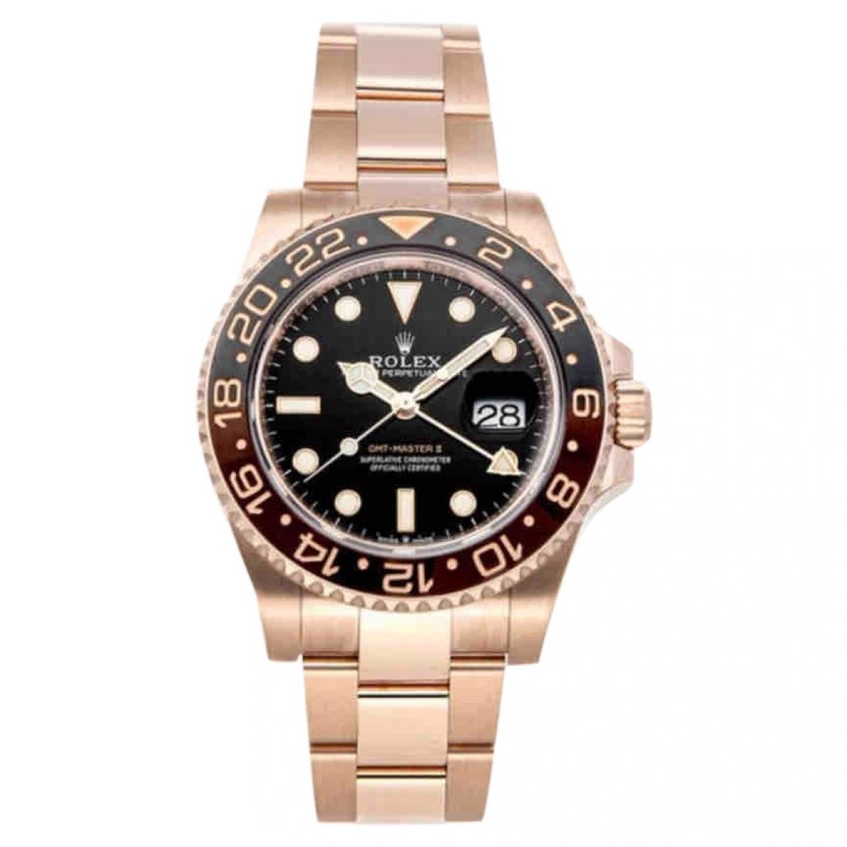 Relojes GMT-Master II de Oro rosa Rolex