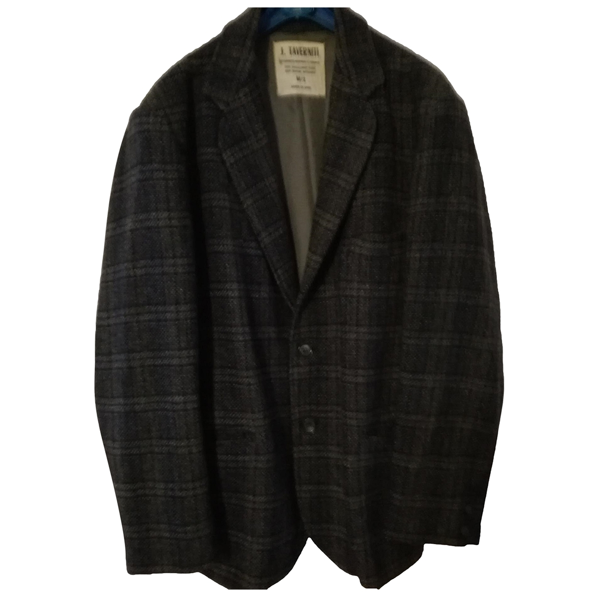 Non Signé / Unsigned \N Grey Wool jacket  for Men M International