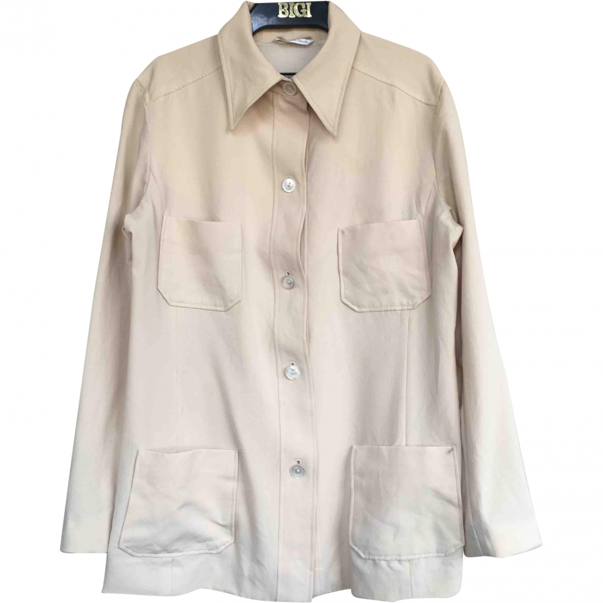Max Mara \N Beige  top for Women M