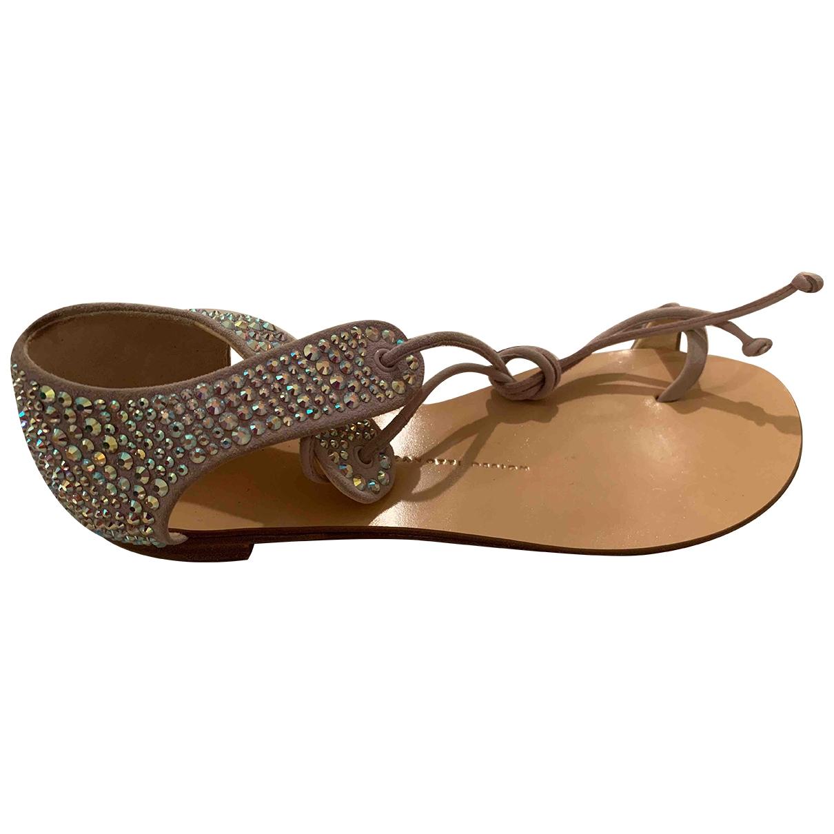 Giuseppe Zanotti \N Leather Sandals for Women 36.5 EU