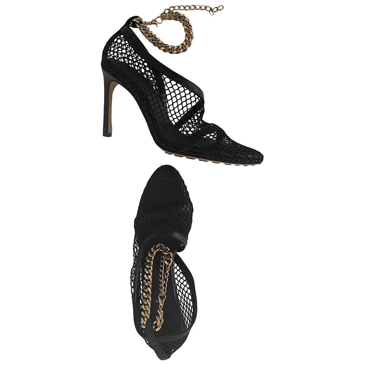 Bottega Veneta - Escarpins   pour femme en toile - noir
