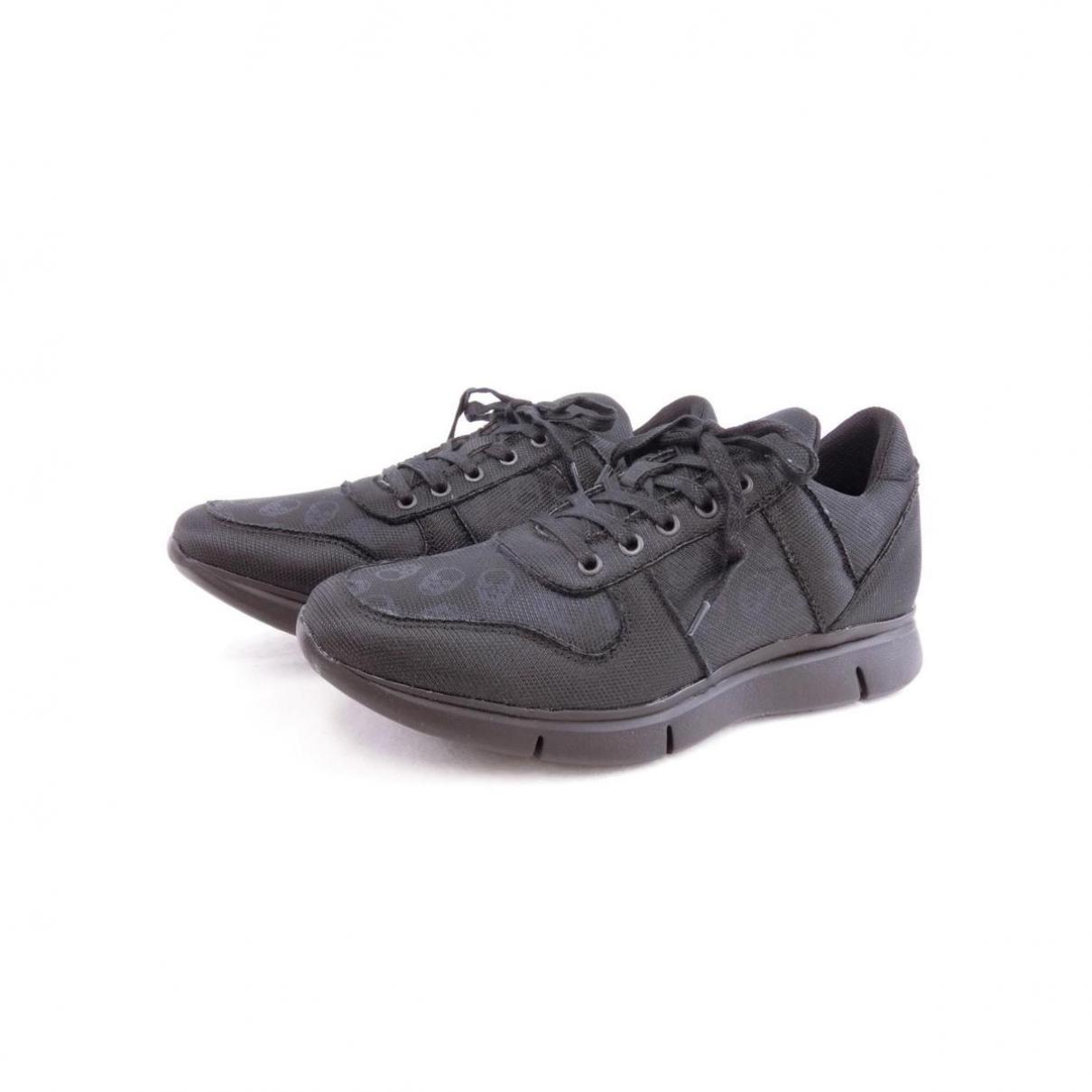 Lucien Pellat Finet - Baskets   pour homme en cuir - noir