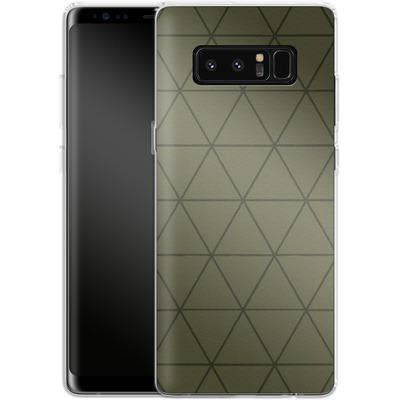 Samsung Galaxy Note 8 Silikon Handyhuelle - Moss von caseable Designs