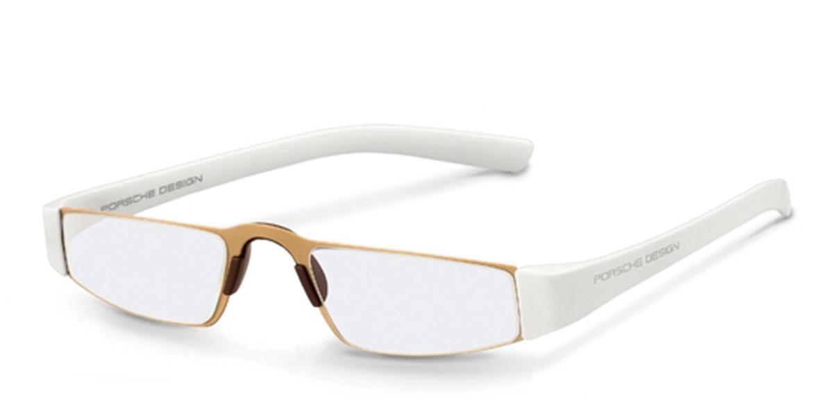 Porsche Design P8801 C Men's Glasses Gold Size 48 - Free Lenses - HSA/FSA Insurance - Blue Light Block Available