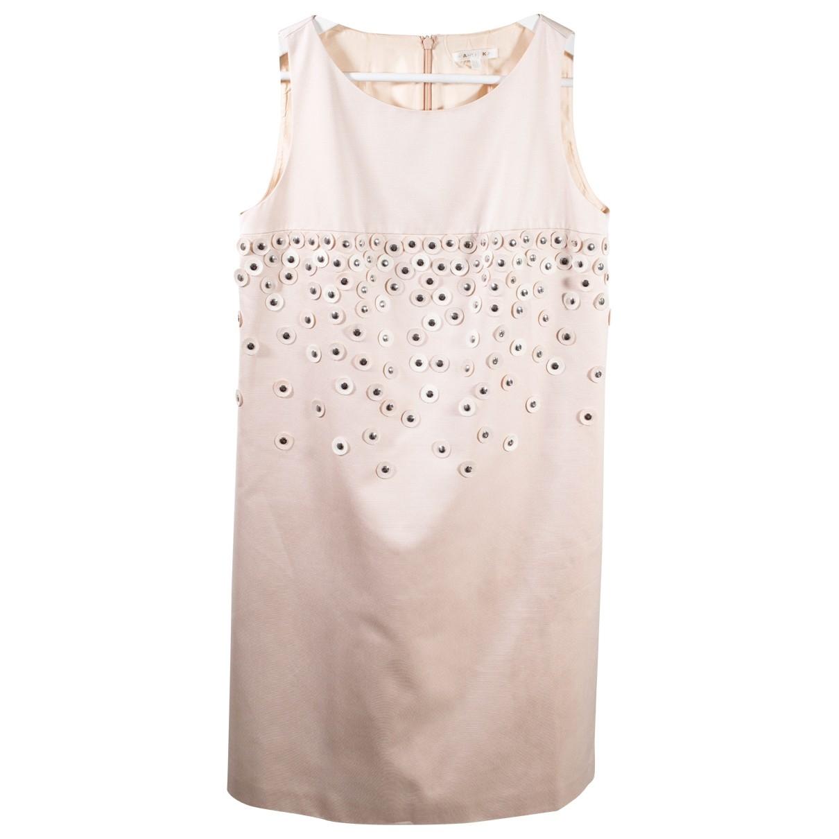Paule Ka \N Kleid in  Rosa Polyester