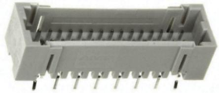 TE Connectivity , AMP Mini CT, 32 Way, 2 Row, Straight PCB Header (5)