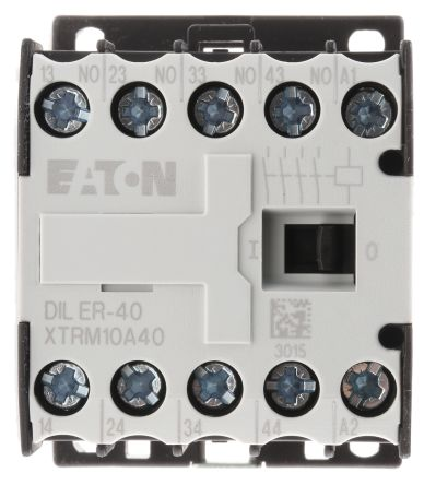 Eaton Contactor Relay - 4NO, 3 A Contact Rating