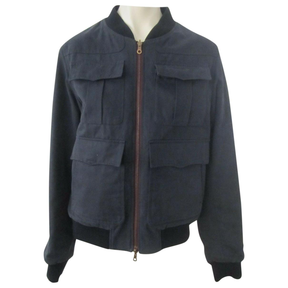 Dries Van Noten \N Navy Cotton jacket  for Men 50 IT