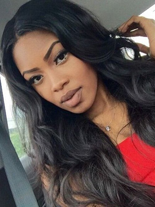 Body Wave Long Middle Parting Synthetic Wig