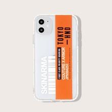 iPhone Etui mit Bordkarte Muster