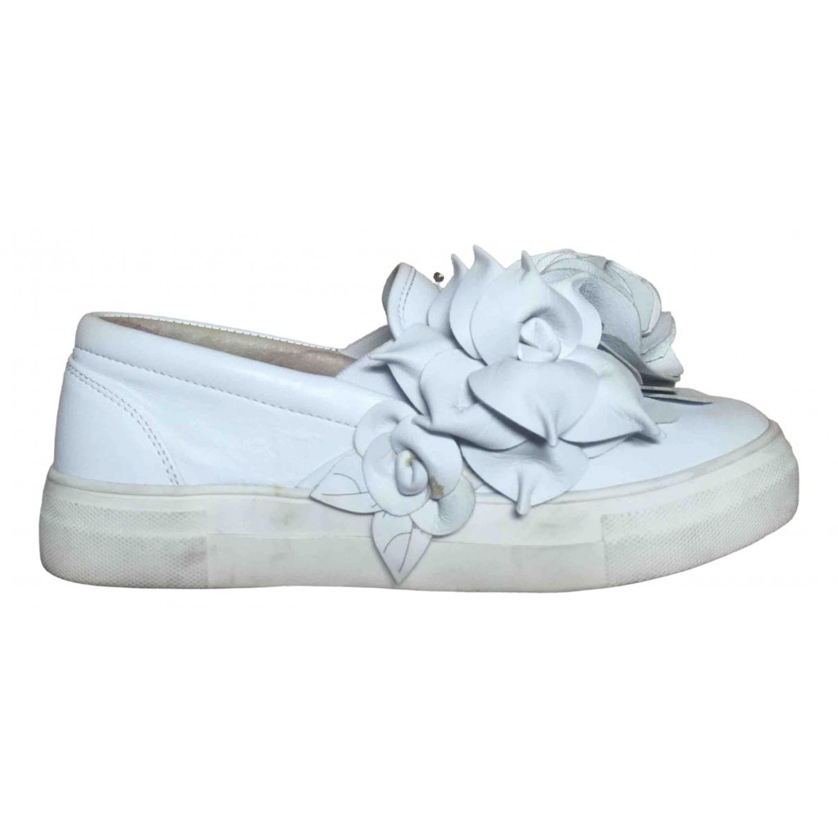 Sophia Webster \N Sneakers in  Weiss Leder