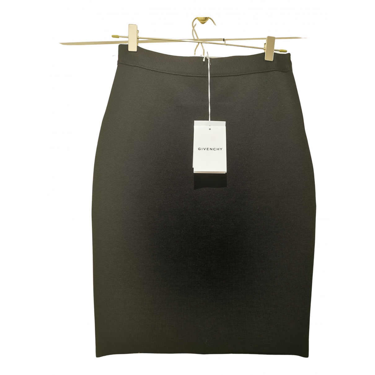 Givenchy - Jupe   pour femme en coton - elasthane - noir