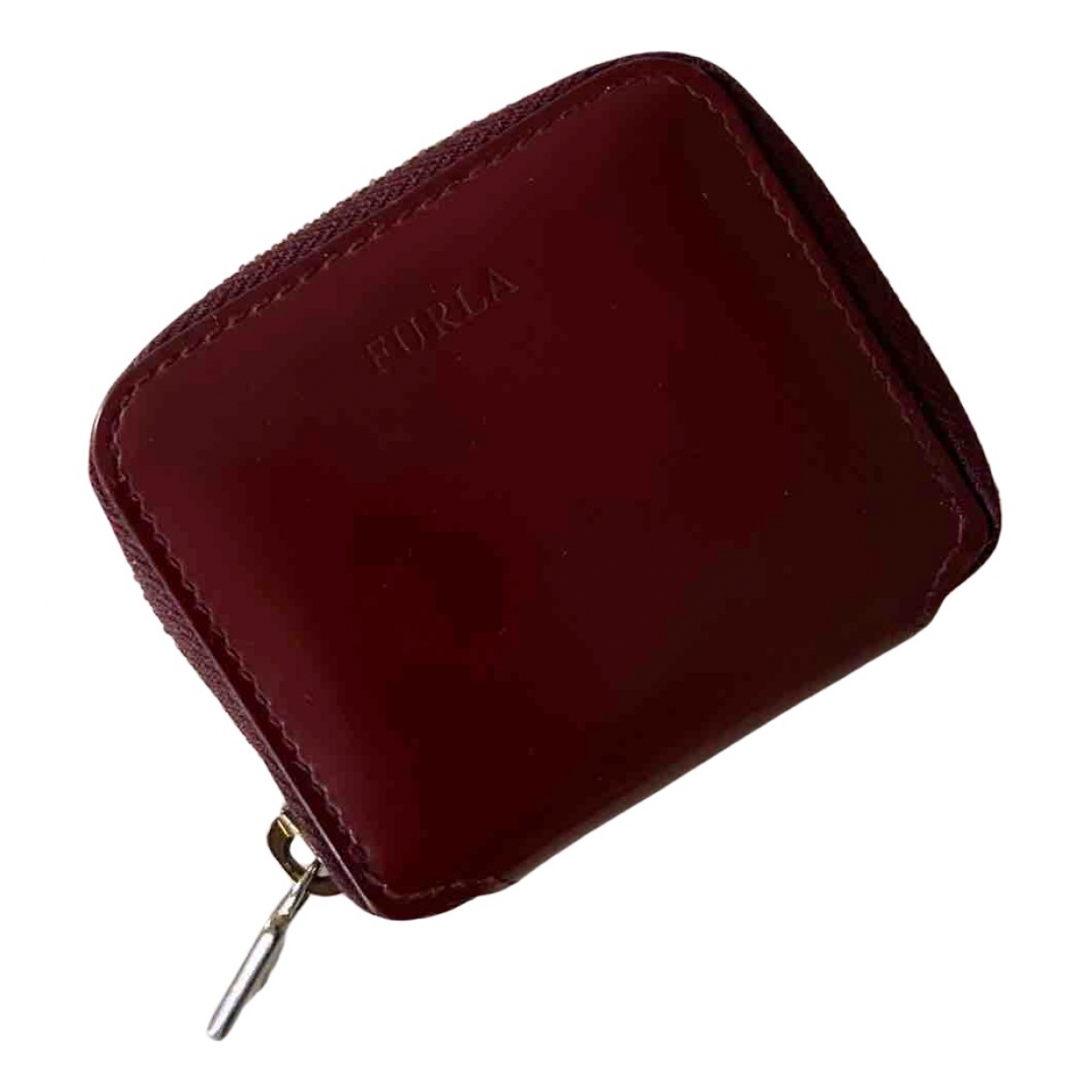 Furla \N Portemonnaie in  Rot Leder