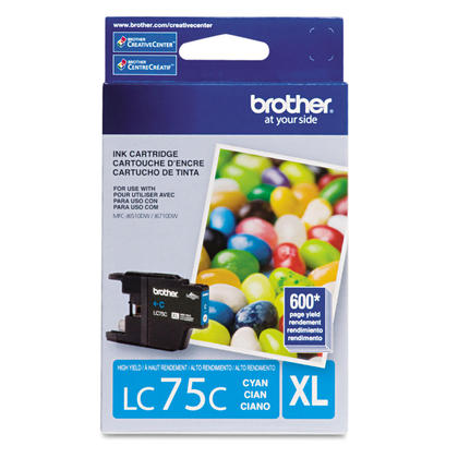 Brother MFC-J6910DW originale cyan cartouche d'encre, haut rendement