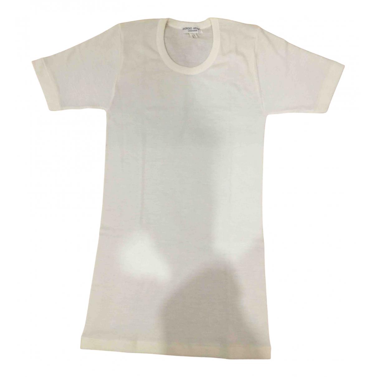 Giorgio Armani - Polos   pour homme en autre - blanc